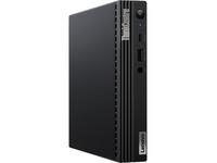 Lenovo ThinkCentre M75q Gen 2 11JJ008BUS Desktop Computer - AMD Ryzen 3 PRO 4350GE Quad-core (4 Core) 3.50 GHz - 8 GB RAM SDRAM - 128 GB PCI Express SSD - Tiny - Raven Black
