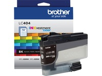 Brother INKvestment LC404BK Original Ink Cartridge - Single Pack - Black