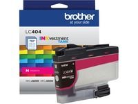 Brother INKvestment LC404M Original Ink Cartridge - Single Pack - Magenta