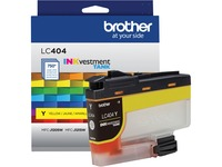 Brother INKvestment LC404Y Original Ink Cartridge - Single Pack - Yellow