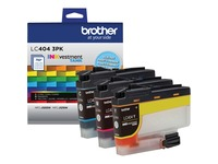 Brother INKvestment LC4043PK Original Ink Cartridge - Cyan, Magenta, Yellow