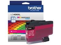 Brother INKvestment LC406XLM Original Ink Cartridge - Single Pack - Magenta