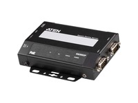 ATEN SN3002P 2-Port RS-232 Secure Device Server with PoE