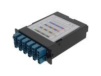 AddOn 4-Bay Cassette 3x 12-Fiber MPO In, 12 LC Duplex Out, Single-mode Duplex OS2