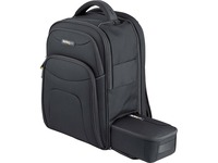 """15.6"""" Laptop Backpack w/ Removable Accessory Case, Professional IT Tech Backpack for Work/Travel/Commute, Nylon Computer Bag"""