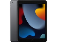 """Apple iPad (9th Generation) Tablet - 10.2"""" - Hexa-core (Lightning Dual-core (2 Core) 2.65 GHz + Thunder Quad-core (4 Core) 1.80 GHz) - 256 GB Storage - iPadOS 15 - Space Gray"""