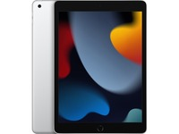 """Apple iPad (9th Generation) Tablet - 10.2"""" - Hexa-core (Lightning Dual-core (2 Core) 2.65 GHz + Thunder Quad-core (4 Core) 1.80 GHz) - 64 GB Storage - iPadOS 15 - Silver"""