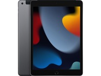 """Apple iPad (9th Generation) Tablet - 10.2"""" - Hexa-core (Lightning Dual-core (2 Core) 2.65 GHz + Thunder Quad-core (4 Core) 1.80 GHz) - 64 GB Storage - iPadOS 15 - 4G - Space Gray"""