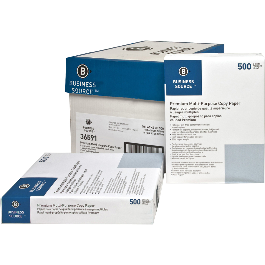 Premium Multipurpose Copy Paper