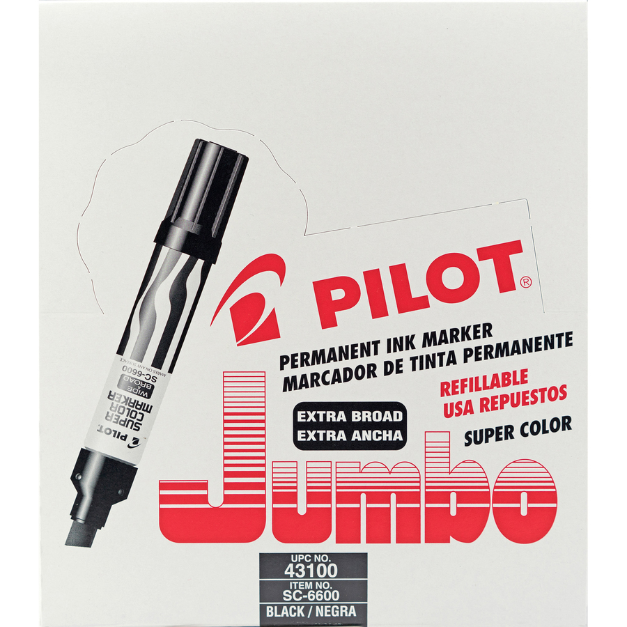 Jumbo Refillable Permanent Marker
