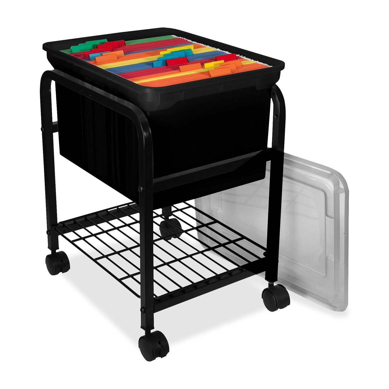 Attractive Storage Rolling File Cart