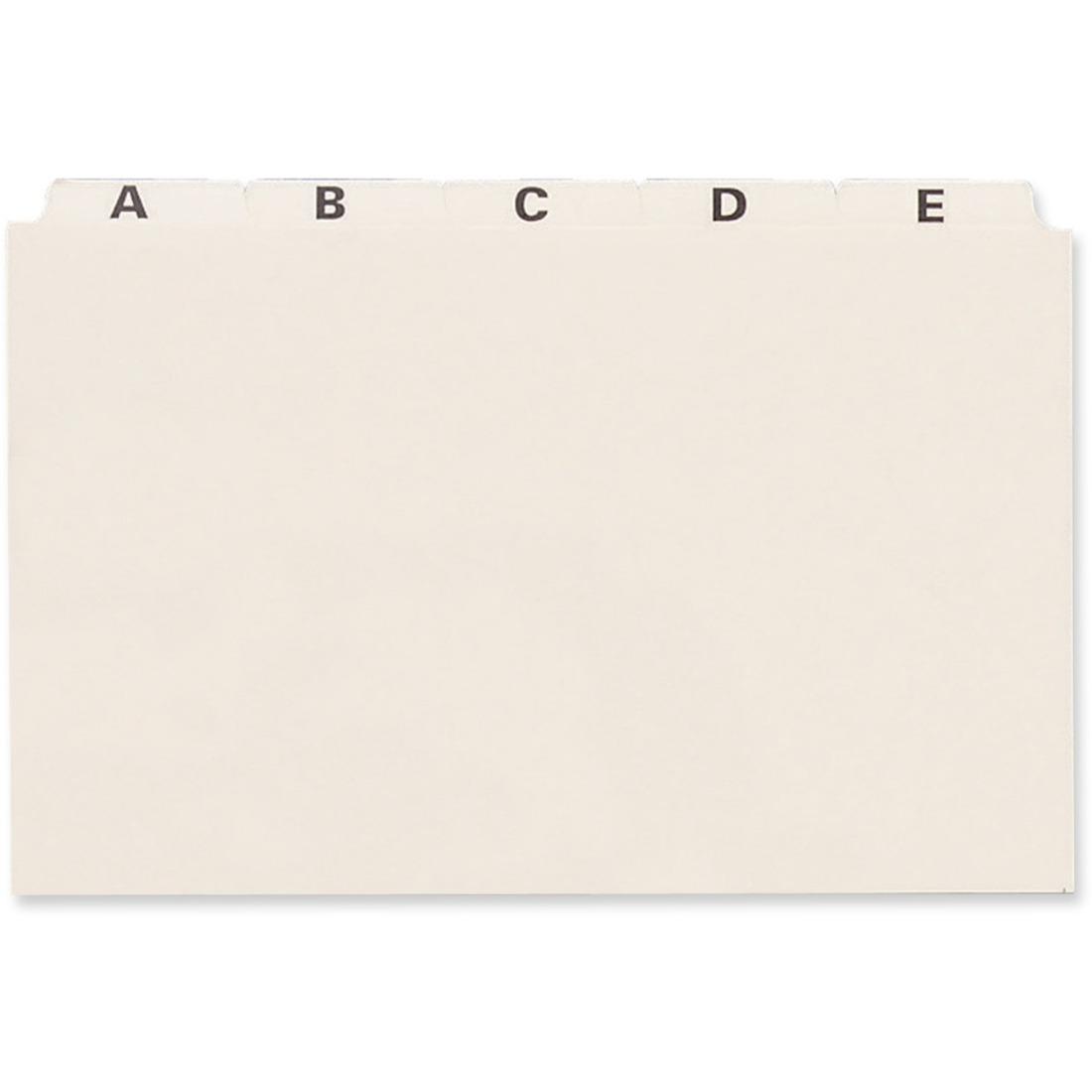 8 x 5 index card holder