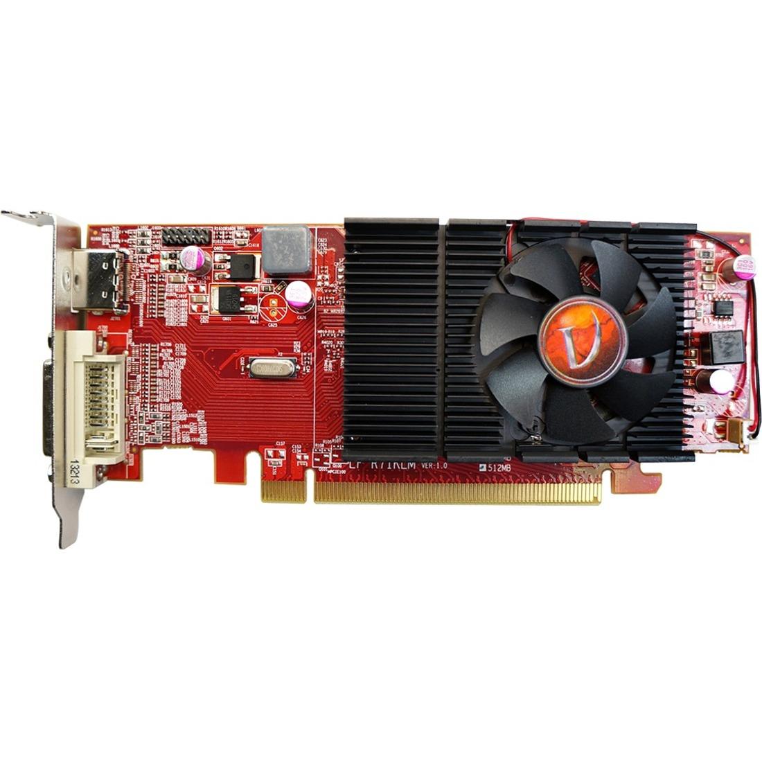Visiontek Radeon HD 4350 Graphics Card - ATi Radeon HD 4350 - 512MB DDR2  SDRAM 64bit - PCI Express 2 0 900289