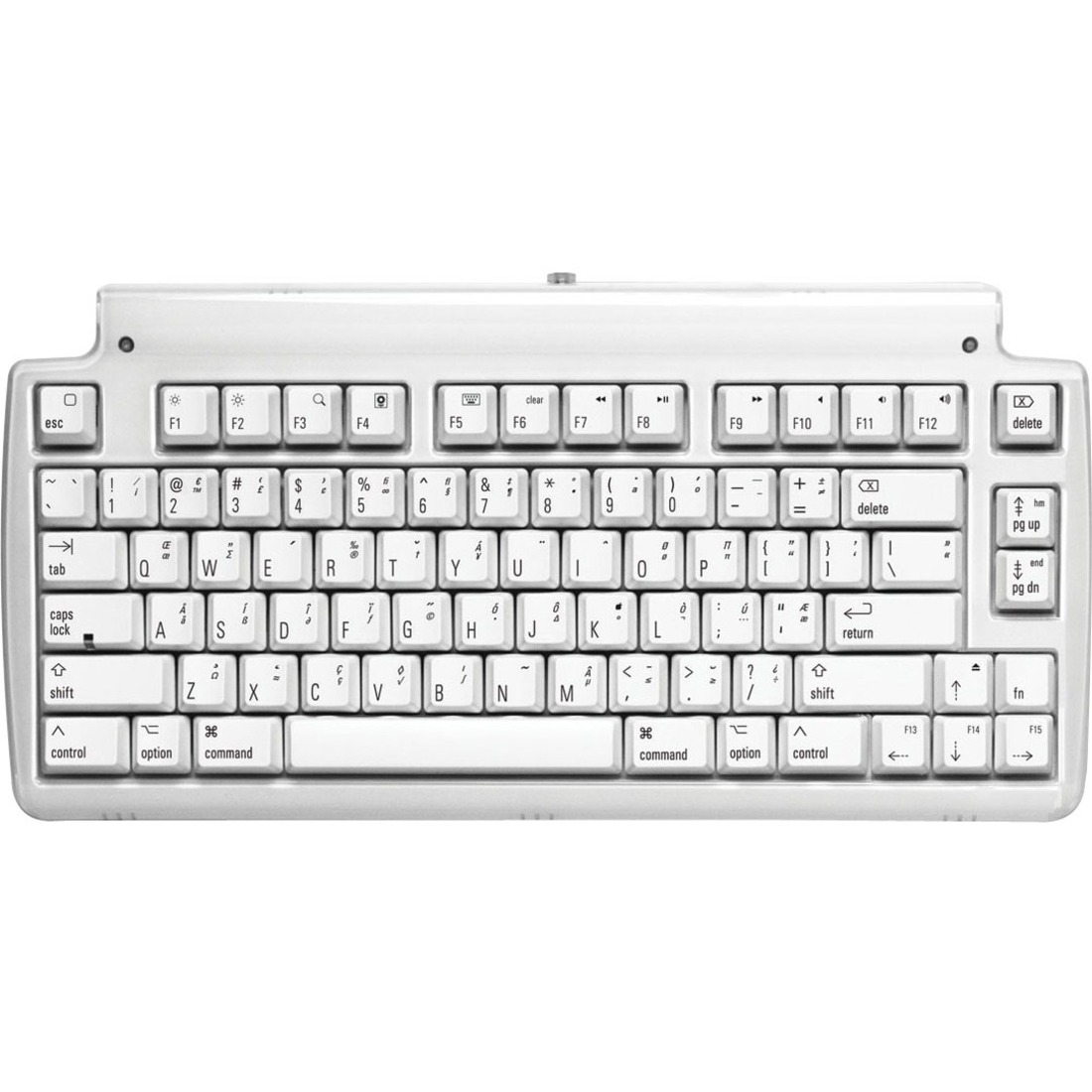 Matias Mini Tactile Pro Mechanical Switch Keyboard for Mac - Cable  Connectivity - USB 2 0 Interface - English (US) - Compatible with Notebook  (Mac) -