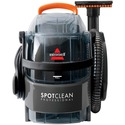 """BISSELL SpotClean Professional Portable Deep Cleaning System 3624C - 2.84 L Water Tank Capacity - Stain Tool, Stair Tool, Hose - Carpet - 22 ft Cable Length - 60"""" (1524 mm) Hose Length - AC Supply - 5.70 A - Titanium, Samba Orange"""