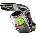 BISSELL Multi Cordless Hand Vacuum | 1985C - 400 mL - Bagless - Dusting Brush, Extension Hose, Crevice Tool, Brushroll, Extension Wand - Carpet - Pet Hair Cleaning - Battery - Battery Rechargeable - 22 V DC - Gray, Green Accent