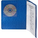Adhesive CD Holders - 5 pack - Sleeve - Slide Insert - Polyvinyl Chloride (PVC) - Clear - 1 CD/DVD