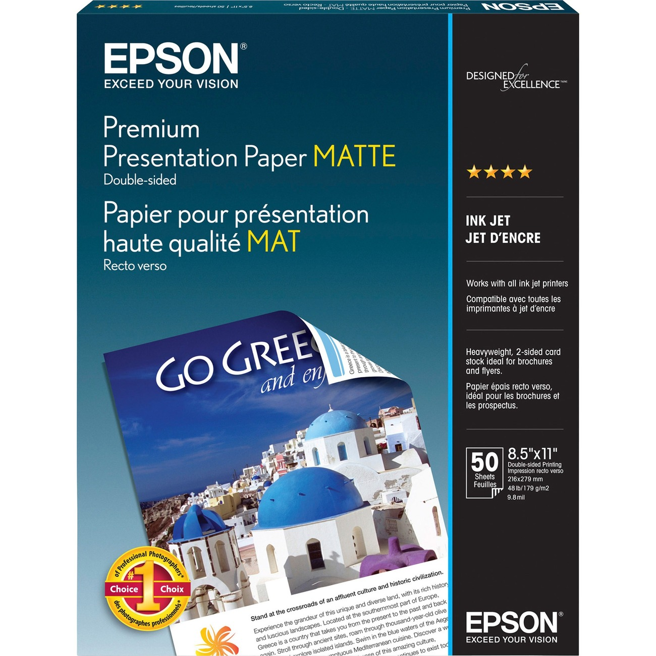 Epson Presentation Paper - Letter - 8 50