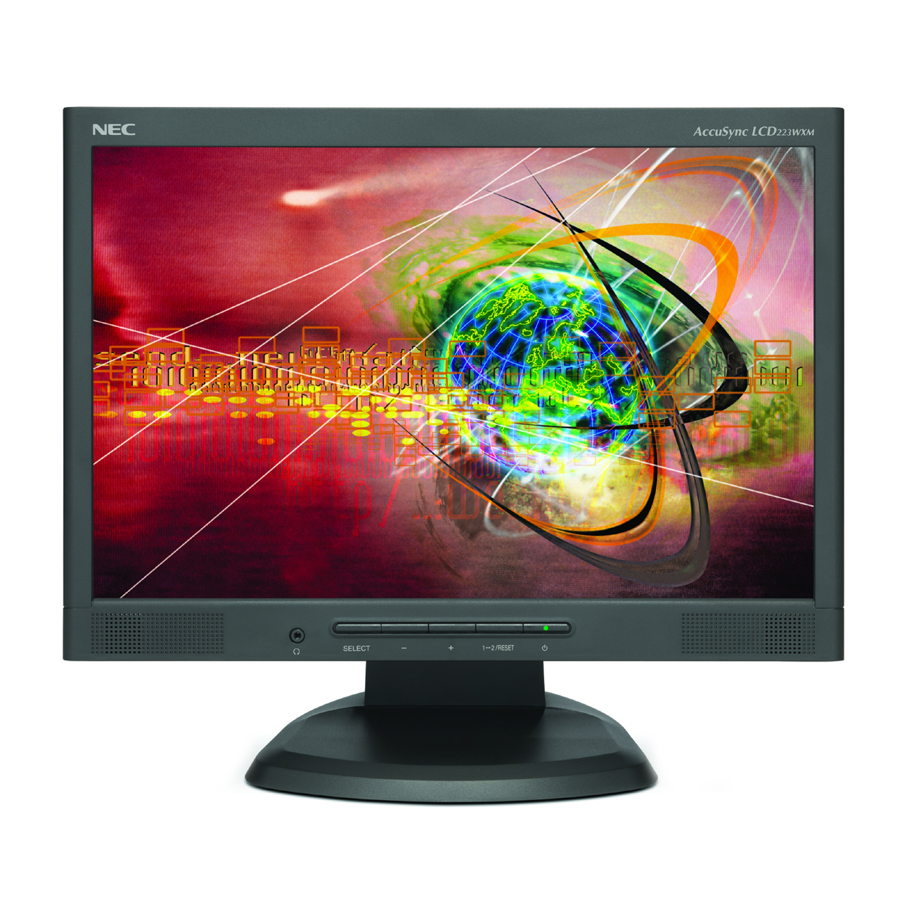 NEC AccuSync LCD193WXM 19 LCD Monitor with built-in speakers