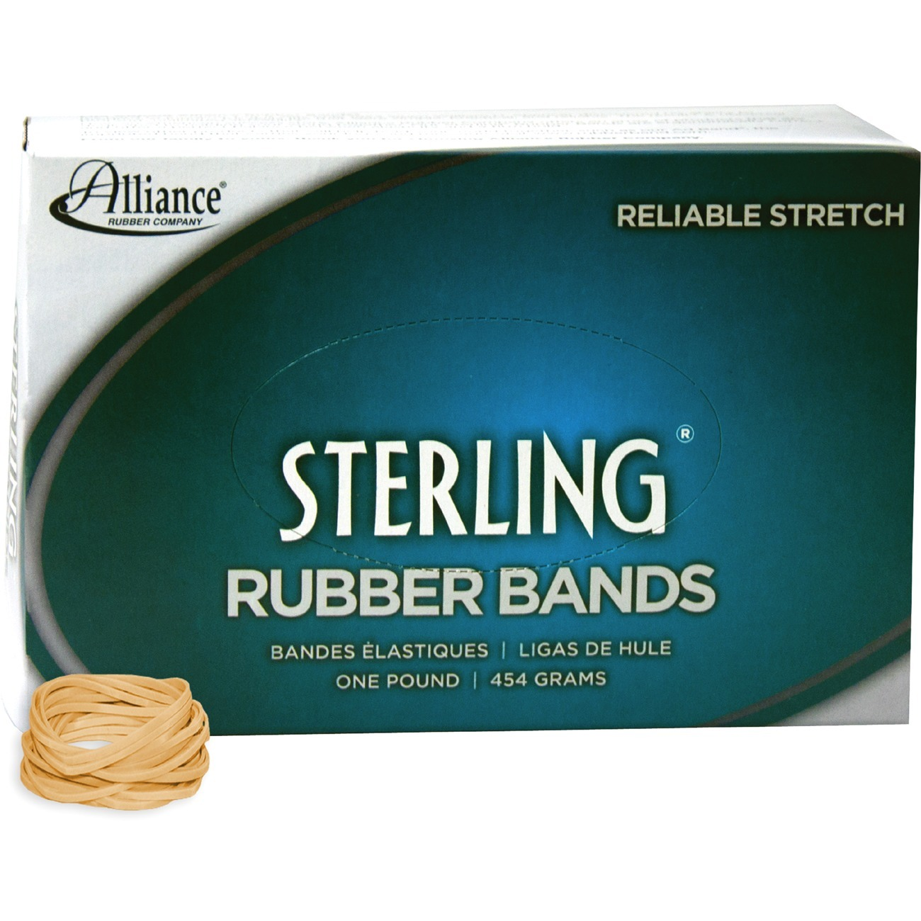 1lb Pack Size 16 Universal Rubber Bands