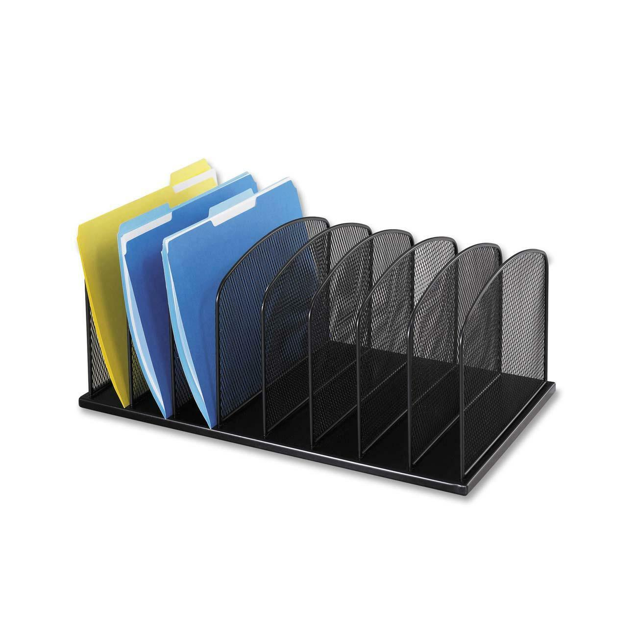 Mesh Desk Organizers Help You Keep Hard To Organize Papers Folders And Binders Handy On Your Work Surface A Variety Of Arrangements Fit Individual