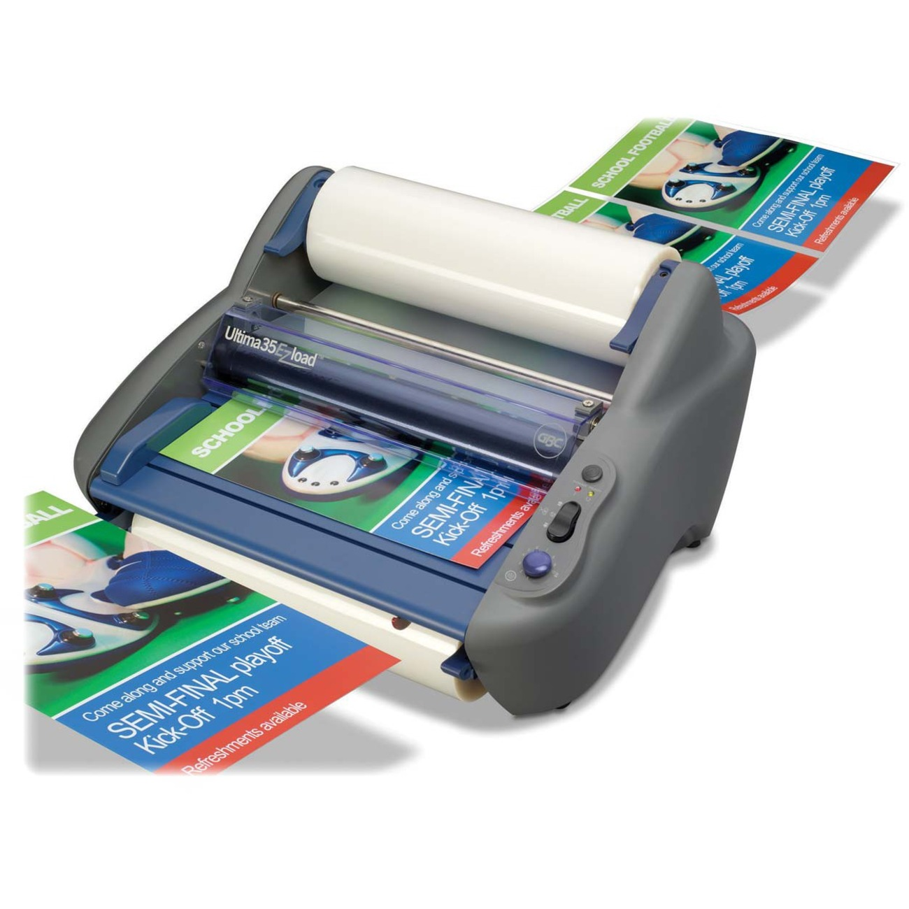 how to use a small laminator