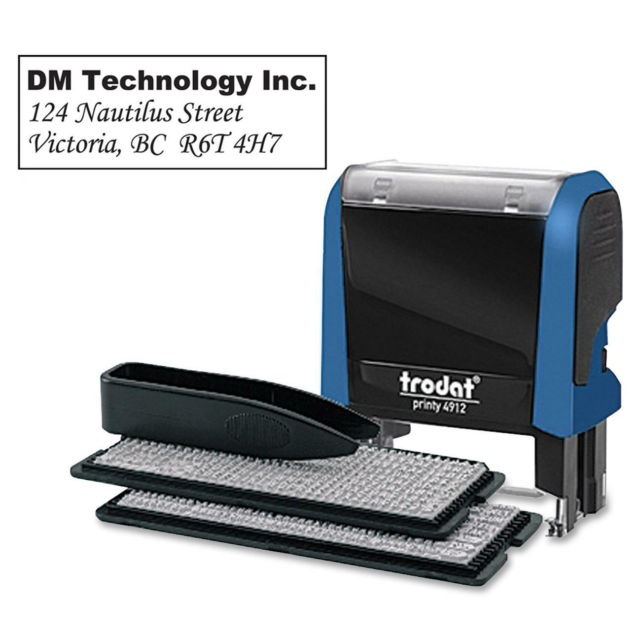 Trodat do it yourself typomatic stamp kit madill the office company click to enlarge solutioingenieria Choice Image
