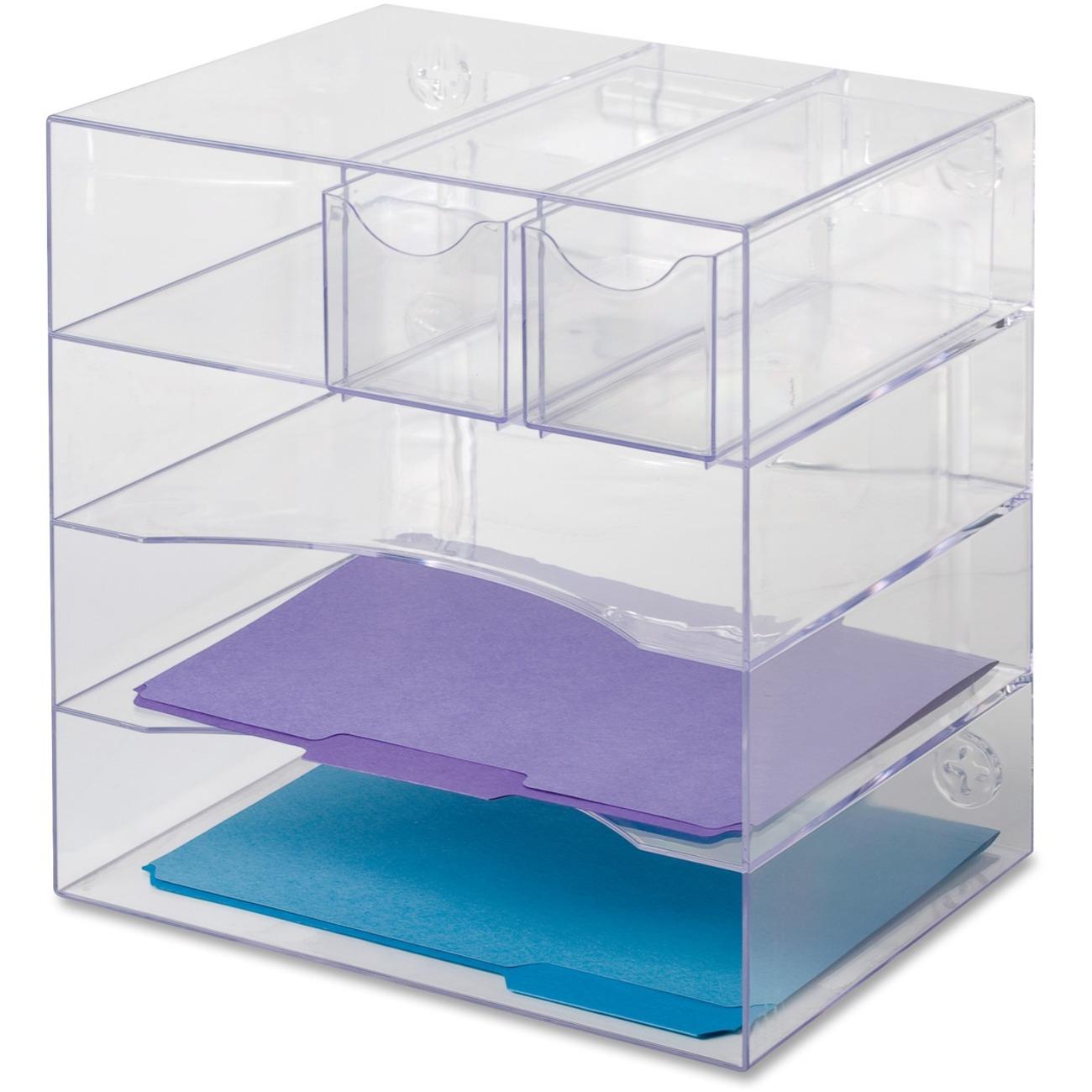Ocean Stationery And Office Supplies Desk Organizers Desktop Holders Rubbermaid Optimizer
