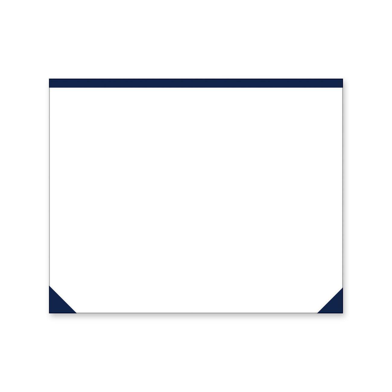 Fine Blueline Eco Plain Desk Pad Rectangle 21 75 552 45 Mm Width X 17 431 80 Mm Depth 50 Sheets White Home Interior And Landscaping Ymoonbapapsignezvosmurscom