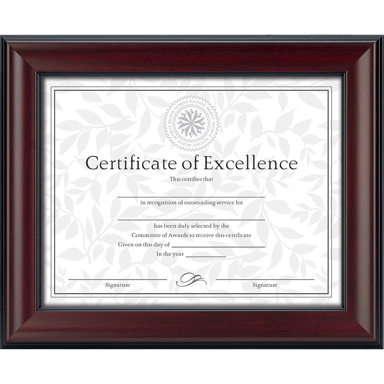 burnes document frame madill the office company