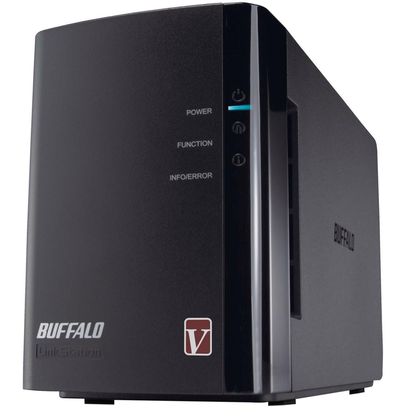 BUFFALO LS-WVL/E Diskless System Linkstation Pro Duo High Performance  2-drive RAID Network Storage - Newegg com