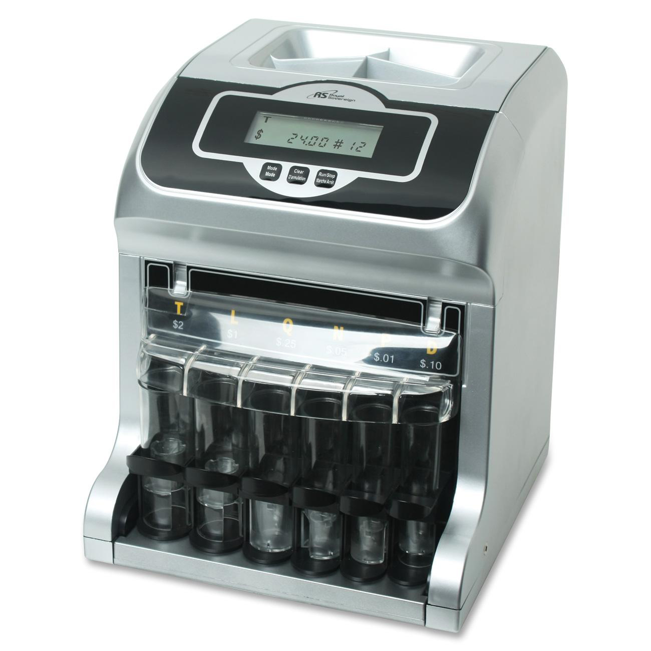 Royal Sovereign Two Row Digital Coin Sorter Madill The