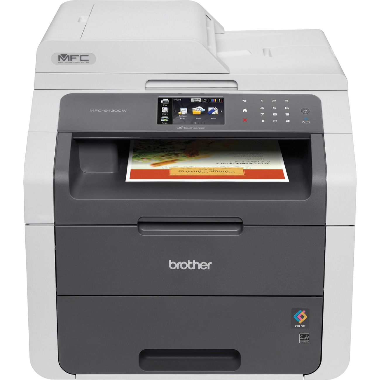 how to connect brother printer to fax documents