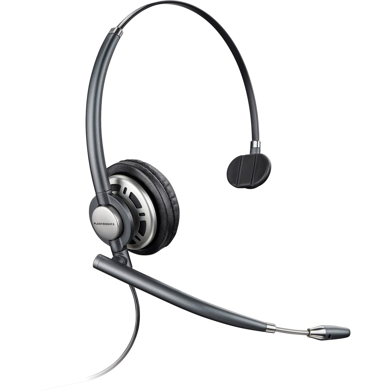Plantronics Encorepro Hw710 Monaural Headset With Noise Canceling Mic 78712 101 Newegg Com