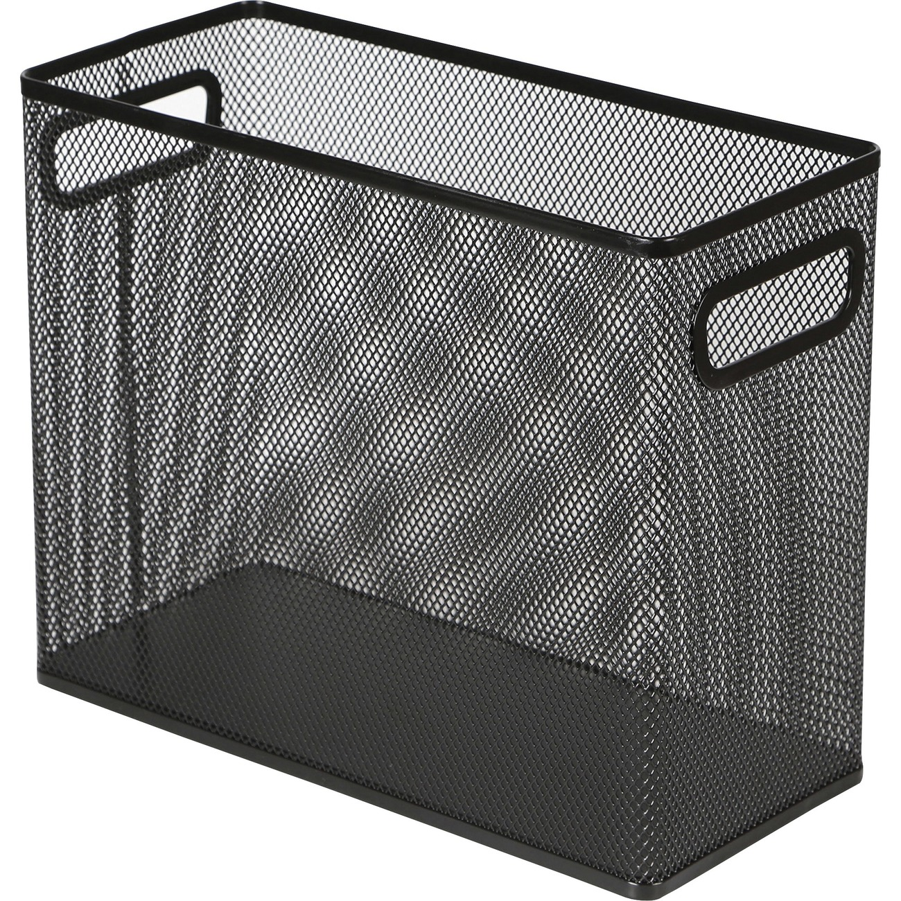 Steel Tabletop File For Hanging Folders Keeps Your Letter Size Files Standing On Desktop And Ready Frequent Use Mesh Exterior Easily Lets You