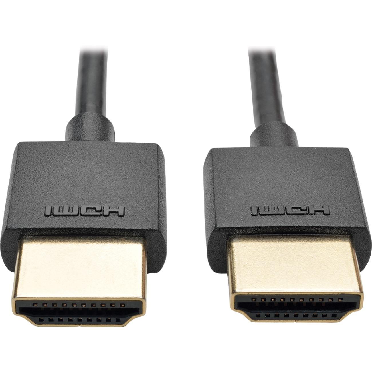 Tripp Lite 6ft Hi Speed Hdmi Cable W Ethernet Digital Video Slim Hdm1 Cabel Published