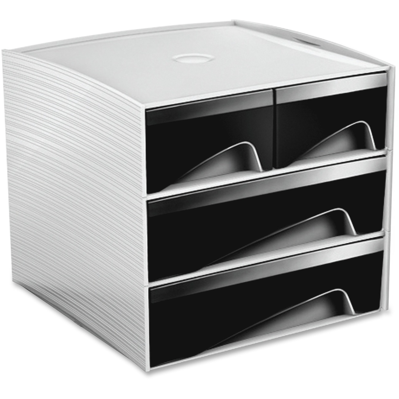 Stylish Way To Organize Your Small Accessories And Office Supplies Ergonomic Recessed Handles Allow You Comfortably Access Stackable