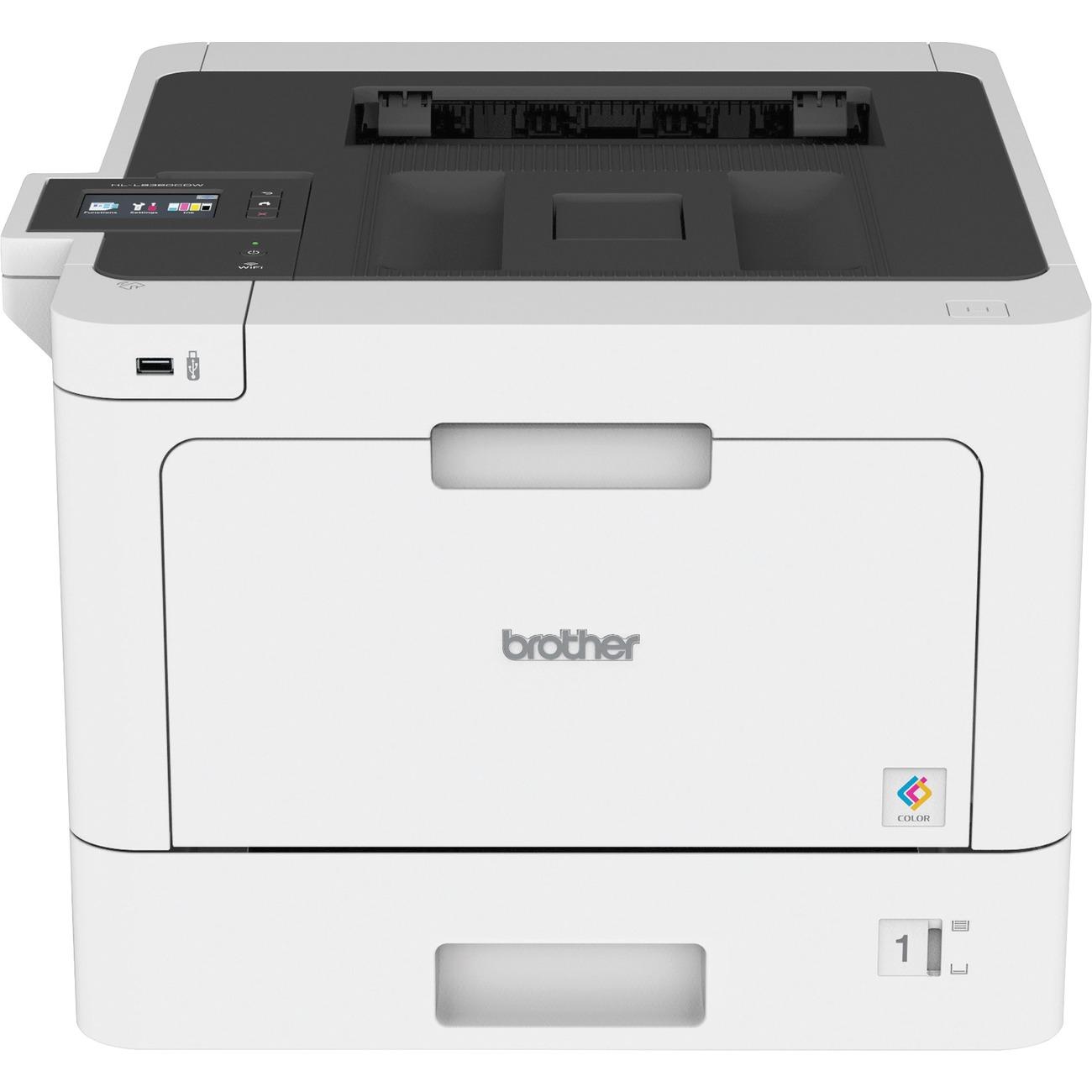 Brother Business Color Laser Printer HL-L8360CDW - Duplex - Color Laser  Printer - 33 ppm Mono / 33 ppm Color - Ethernet - Wireless LAN - USB 2 0