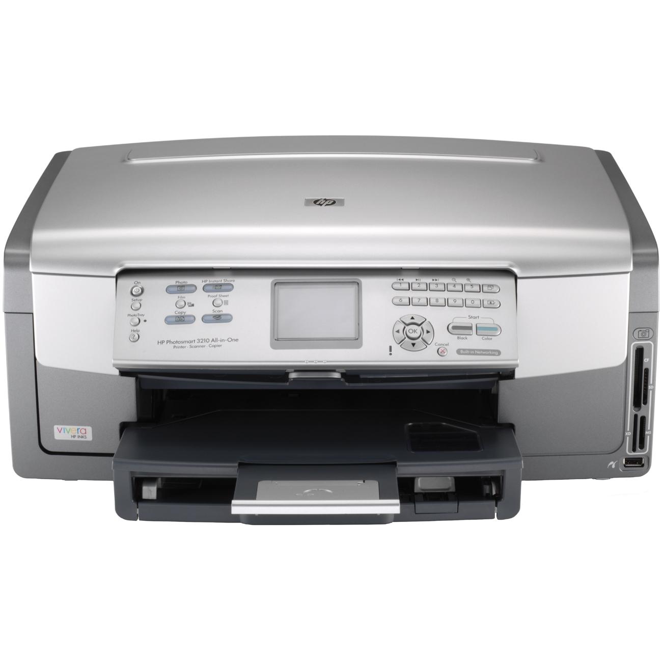 Superwarehouse - HP Photosmart 3210 All in One Inkjet Printer, HP Q5843A#ABA