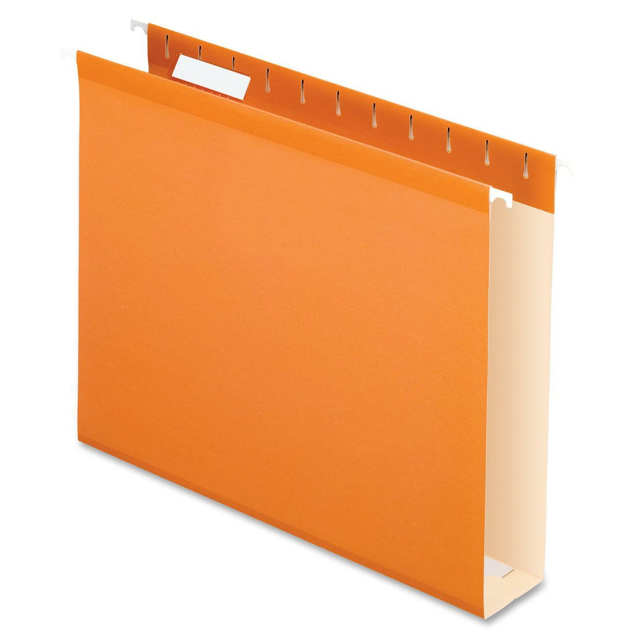 Pfx4152x2ora Pendaflex Box Bottom Colored Hanging Folders