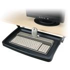 "Kensington Standard Under Desk Keyboard Drawer - 2.3"" Height x 20.8"" Width x 13.3"" Depth - Platinum"