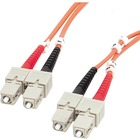 StarTech.com 2m Multimode 62.5/125 Duplex Fiber Patch Cable SC - SC - SC Male - SC Male - 6.56ft - Orange