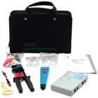 StarTech.com Professional RJ45 Network Installer Tool Kit with Carrying Case - Network Installation Kit - Network tool tester kit
