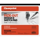 """Clearprint Isometric Grid Paper Pad - Letter - 30 Sheets - 20 lb Basis Weight - 8 1/2"""" x 11"""" - White Paper - 30 / Pad"""
