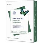 "Hammermill Paper for Color Laser Print Laser Paper - Letter - 8 1/2"" x 11"" - 28 lb Basis Weight - Ultra Smooth - White"