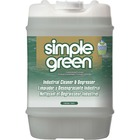 Simple Green Industrial Cleaner/Degreaser - Concentrate Liquid - 18.93 L - Original Scent - 1 / Each - White