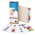 "Smead Smartstrip Labeling System ColorBar Refill Labels - 7 1/2"" Width x 1 1/2"" Length - Inkjet - 1 / Pack"