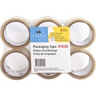 """Sparco Transparent Hot-melt Tape - 55 yd (50.3 m) Length x 2"""" (50.8 mm) Width - 1.90 mil (0.05 mm) Thickness - 3"""" Core - 36 / Carton - Clear"""