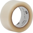 "Sparco Transparent Hot-melt Tape - 110 yd (100.6 m) Length x 2"" (50.8 mm) Width - 1.90 mil (0.05 mm) Thickness - 3"" Core - 1.60 mil - 1 Roll - Clear"