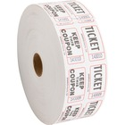 Sparco Roll Tickets - White